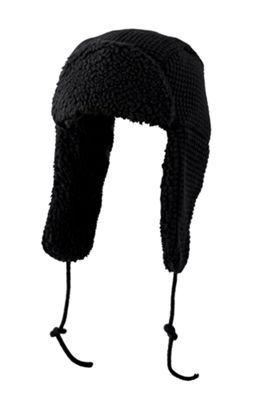 RedHead Rugged Thermal Trooper Hat - Black - OSFM