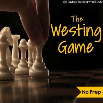 This product for The Westing Game is the perfect way to do both in a format that won't require hours of preparation or bore your students with never-ending chapter comprehension questions. Students will build skills in text analysis, summary, making inferences, and more in this whodunit mystery.