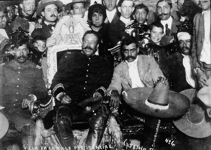 Emiliano Zapata and Pancho Villa, (Hulton Archive/Getty Images)