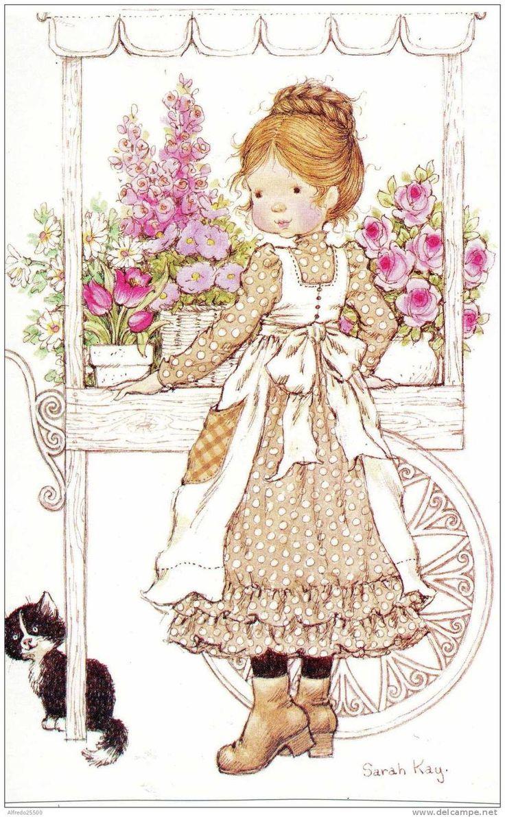 Sarah Kay flowerstand