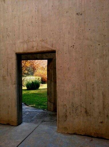 Prayer home Designed by Kamran Diba in the yard of Iran's Carpet Museum