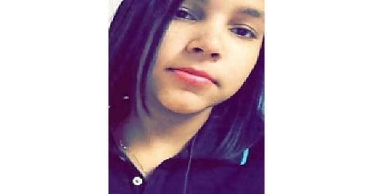 """ALERT MISSING """"YEILIN VELOZ- ALMONTE""""  WHEATON, MD. Missing Date: 09/27/2016. Yeilin was last seen in Wheaton, Montgomery County, Maryland on September 27, 2016. She was last seen wearing a brown tank top with white wording, blue capri jeans, and black shoes."""