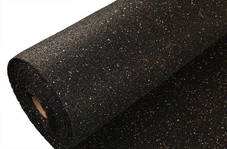 3.2 mm Pre-Cut Rubber Underlayment - Tile / Plank flooring Underlay
