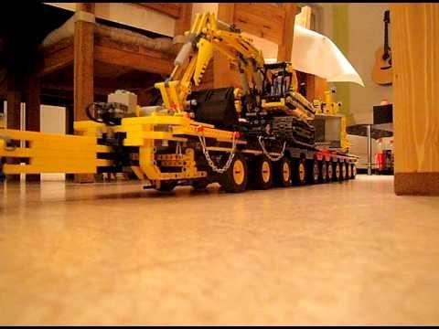 LEGO TECHNIC CAMION 8258 + REMORQUE