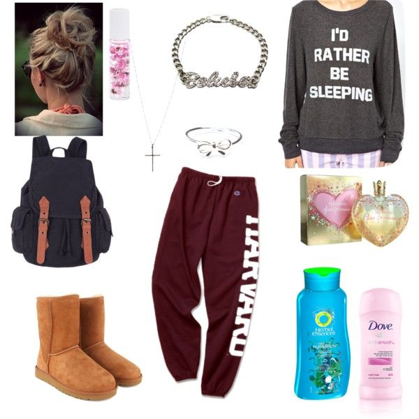 """Simple College outfit"" by carlysamanthab on Polyvore"