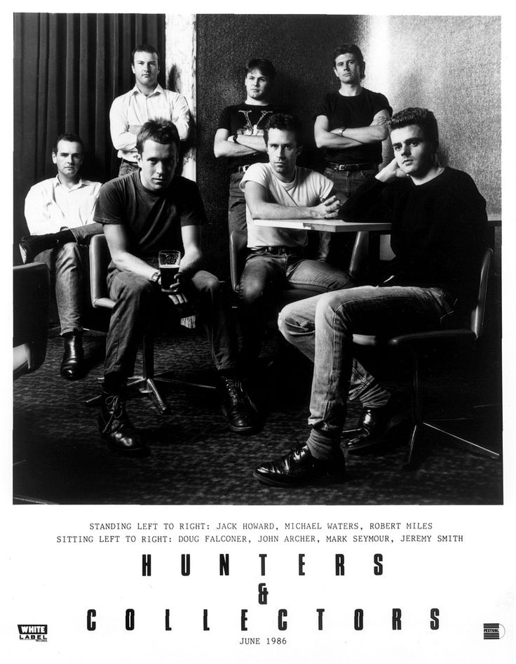 Hunters & Collectors was an Australian band I loved in college! I saw them live at Mabel's in Champaign.