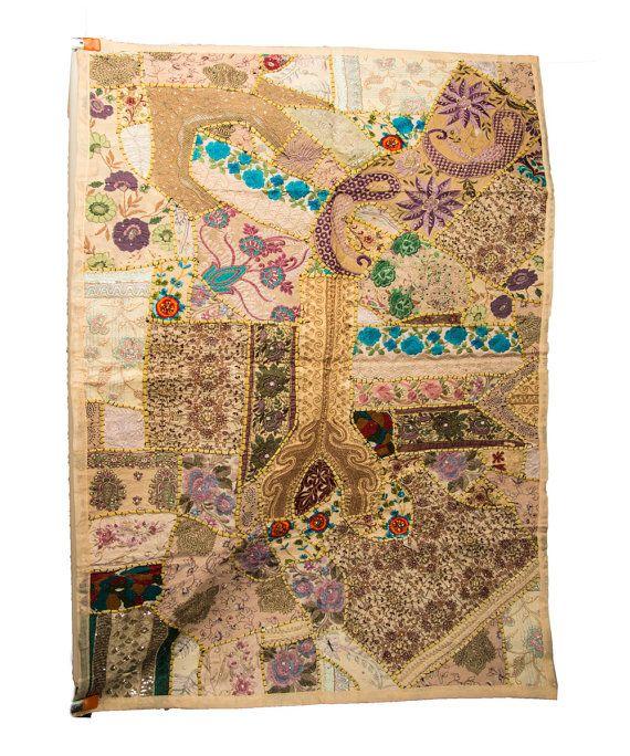 Wall Tapestry, Boho Wall Hanging, Boho Home Decor, Yoga Studio Decor, Table Runner, Hippie Decor, Bedroom Wall Art, Living Room Wall Art