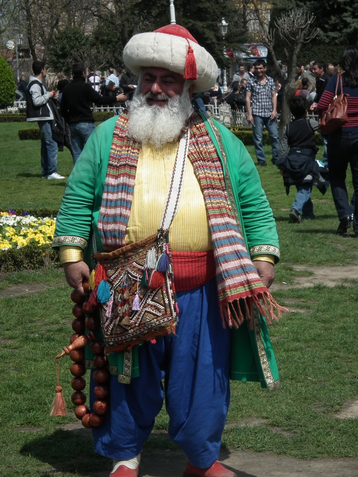 When I was in Turkey, I captured this gem of a photo. Turkish Santa Claus?