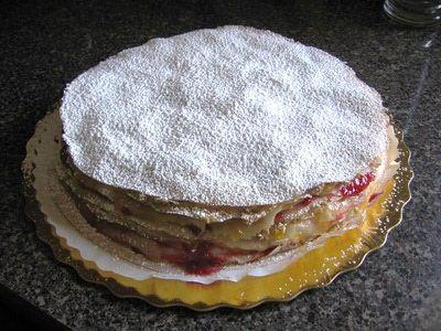 How to Make Hungarian Stacked Pancakes - Rakott Palacsinta