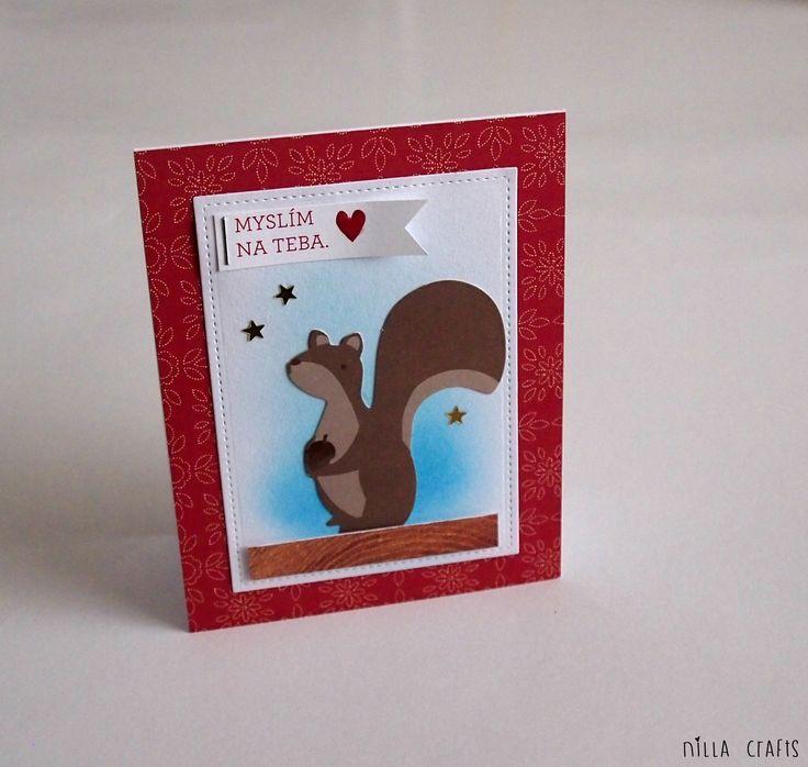 Myslim na teba (september simple kit)  #cardmaking #pebbles #pebblesinc #pebblesharvest #madewithPebbles