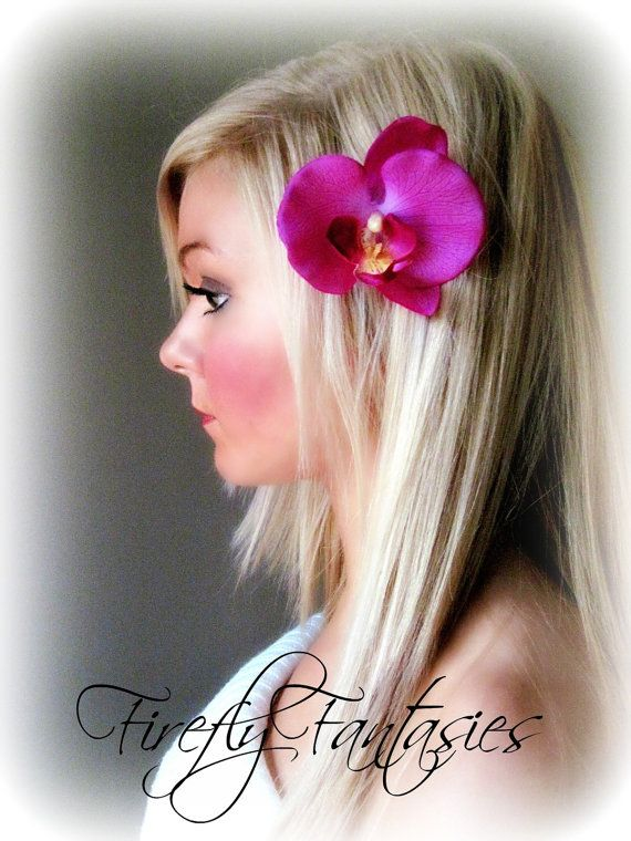 Exotic Orchid   Purple Pink Tropical Hawaiian by FireflyFantasies1, $12.00