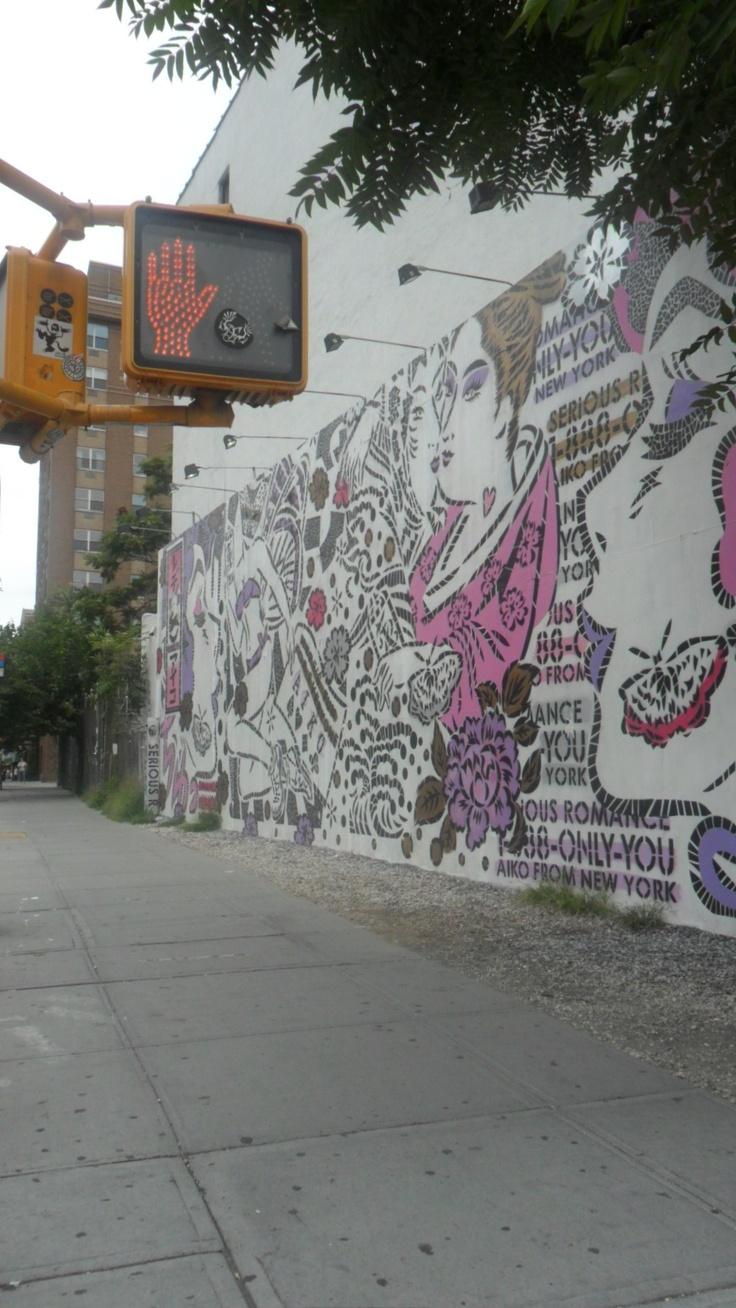 Graffiti en Manhattan, Midtown