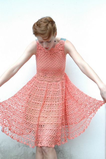 Lolita Crochet Dress 6 by margosha_b, via Flickr