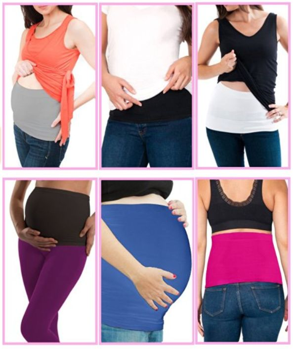 Diy Pregnancy Belly Support Band: 2 Pack Maternity Abdominal Belt Seamless Everyday Band