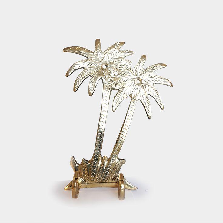 Kapstok Palmboom – Brass