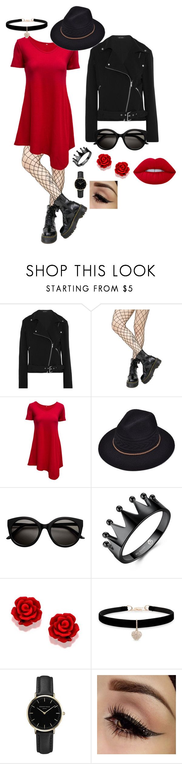 """""""hjsbvdjfb"""" by darlinglove05 ❤ liked on Polyvore featuring Equipment, Leg Avenue, WithChic, Betsey Johnson and ROSEFIELD"""