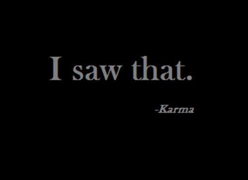 Karma O_o