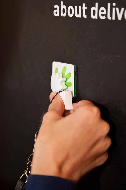 Collect information with your Poken