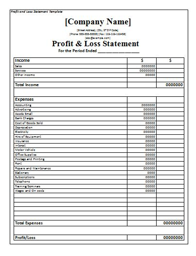 Best 25+ Statement template ideas on Pinterest Art education - profit loss statement template