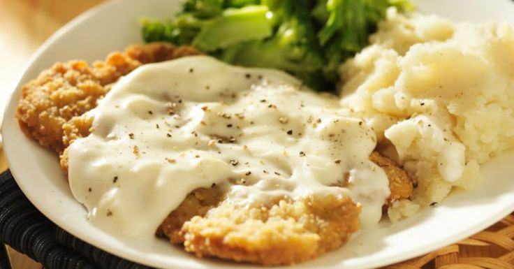 chicken fried steak It doesn't get much better than this dinner...comfort food at its finest!