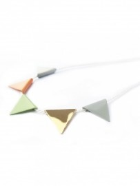 Flag necklace by Hermon & Son