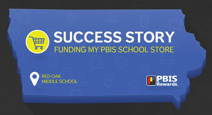 Red Oak Middle School has found a way to fund and stock its PBIS school store, which operates in conjunction with their PBIS program and PBIS Rewards.