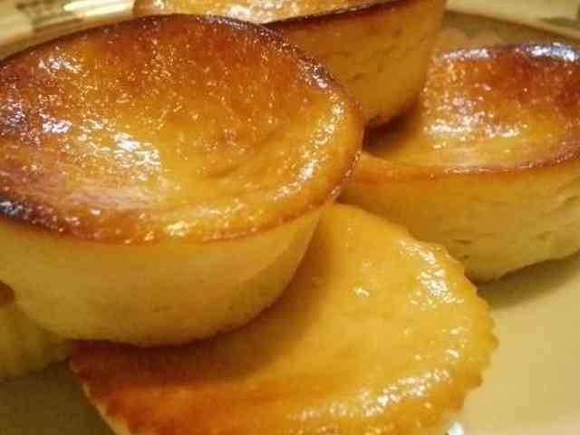ヨーグルトと豆腐のチーズケーキの画像
