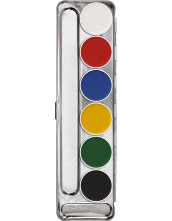 Aquacolor Palette 6 Colori | Kryolan - Professional Make-up