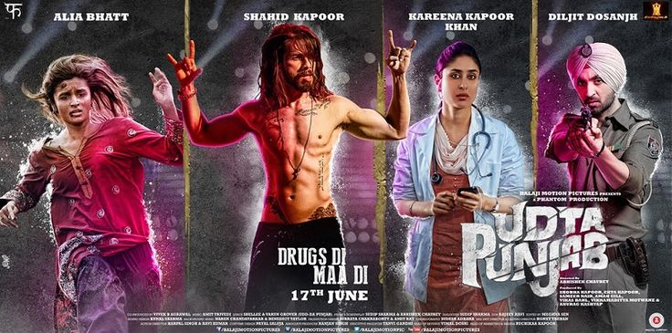 Udta Punjab is a 2016 Indian crime-drama bollywood film co-written and directed by Abhishek Chaubey, produced by Shobha Kapoor and Ekta…