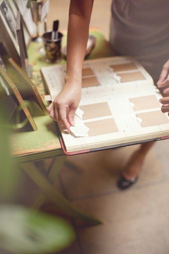 一生の宝物♡結婚式で可愛い『ゲストブック』の作り方*にて紹介している画像