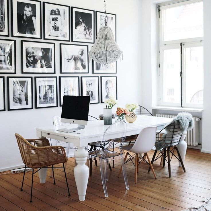 "4,513 Likes, 52 Comments - Lena Terlutter (@lenaterlutter) on Instagram: ""Current #Homeoffice situation  #myhome #interiordesign #loft"""