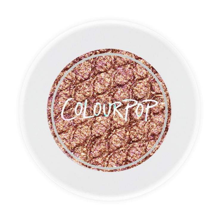 Colourpop Nillionaire | warm bronze with tons of gold and multi coloured glitter in a Metallic finish | $5