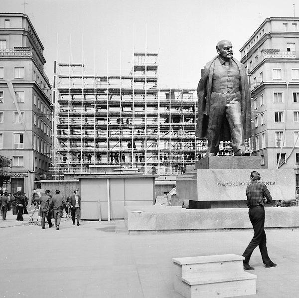 Przed odsłonięciem pomnika Lenina, 1973 r