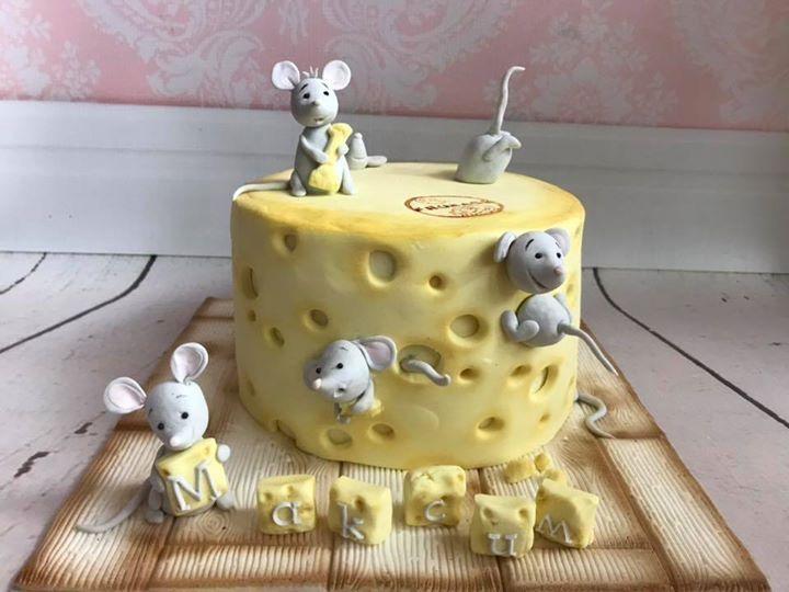 Astonishing Little Mice Cheese Birthday Cake Littlemouse Cheesecake Funny Birthday Cards Online Amentibdeldamsfinfo