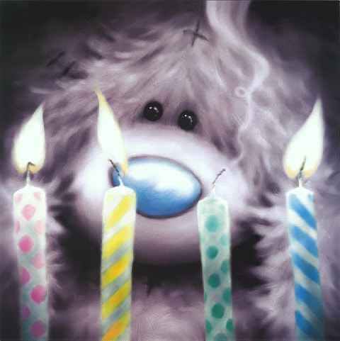 Tatty Teddy's Blue Nose Friends - Candles