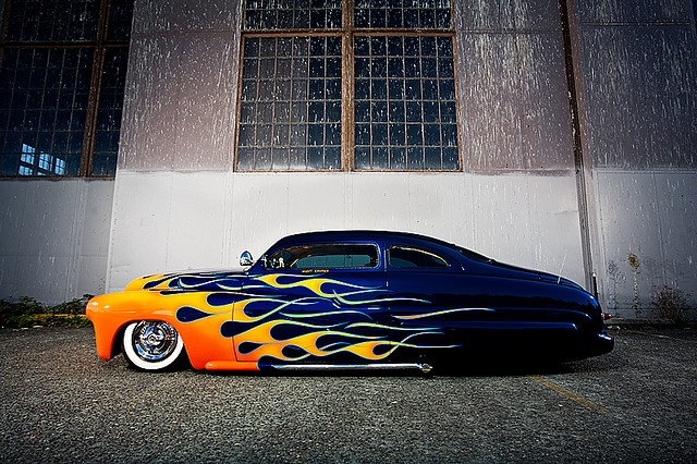 '49 Mercury.  Everything's better with flames.