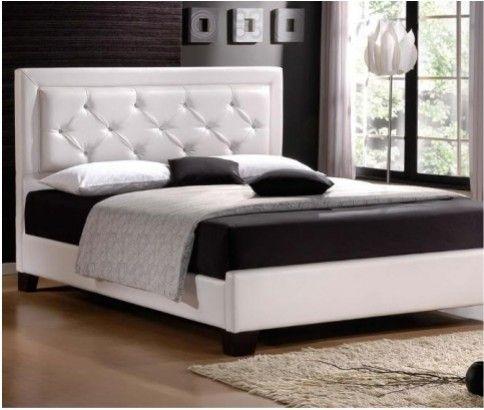 Italian Designed - Stylish PU Leather Bed Frame