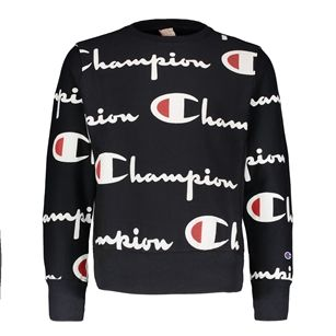 Champion Crewneck sweatshirt allover logo b64f2505c89