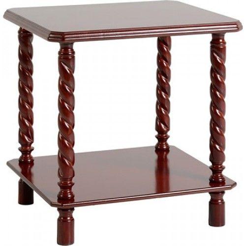Brunton, Lamp Table,  Mahogany