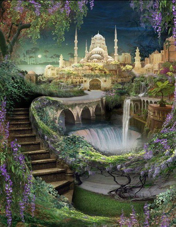 これは楽園。バビロンの空中庭園