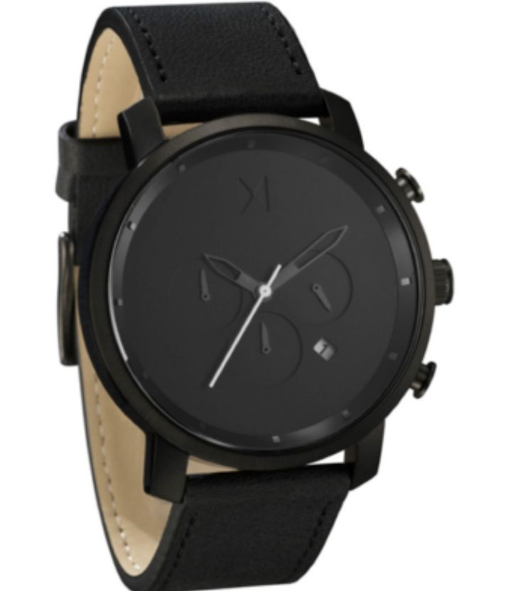 Simplicity is the ultimate sophistication. MVMT MC01-BL. Stick to the basics!  @ www.justwatches.com.au we stock what you are looking for!