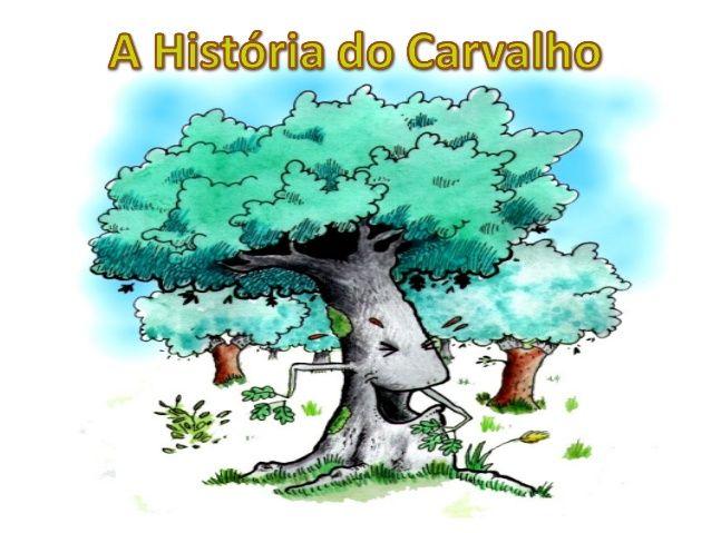 História do carvalho   – Livros
