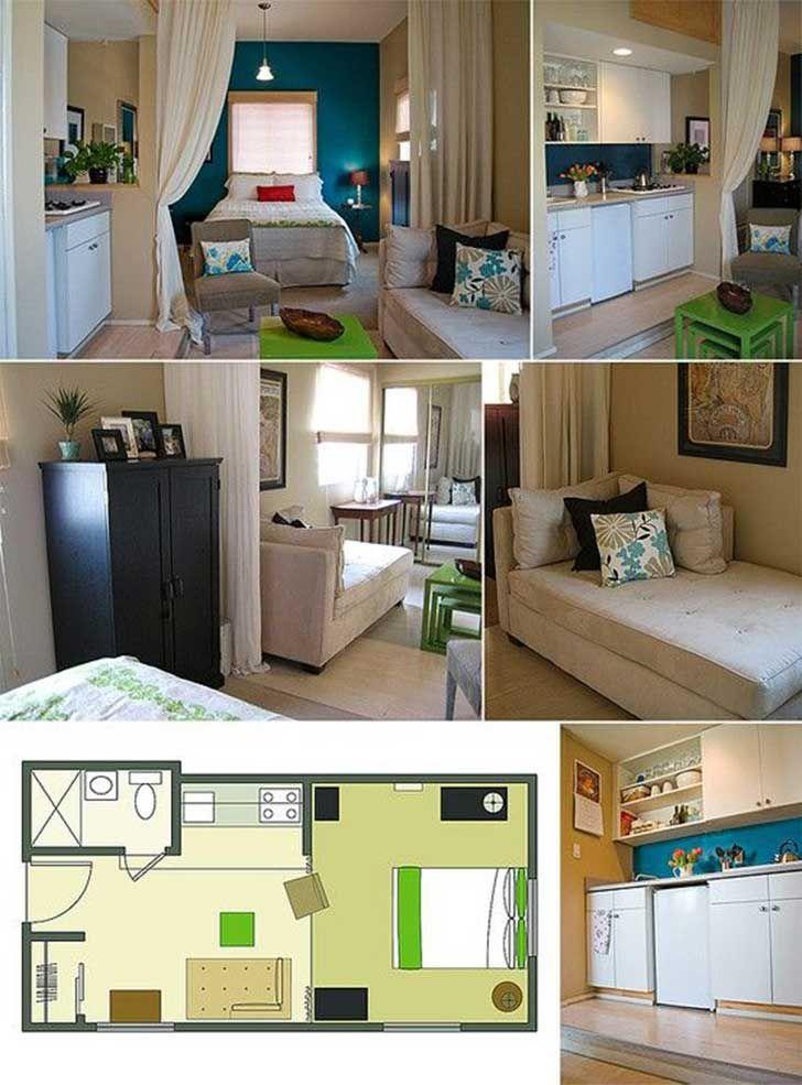 Las 25 mejores ideas sobre muebles para espacios reducidos - Muebles para habitacion pequena ...
