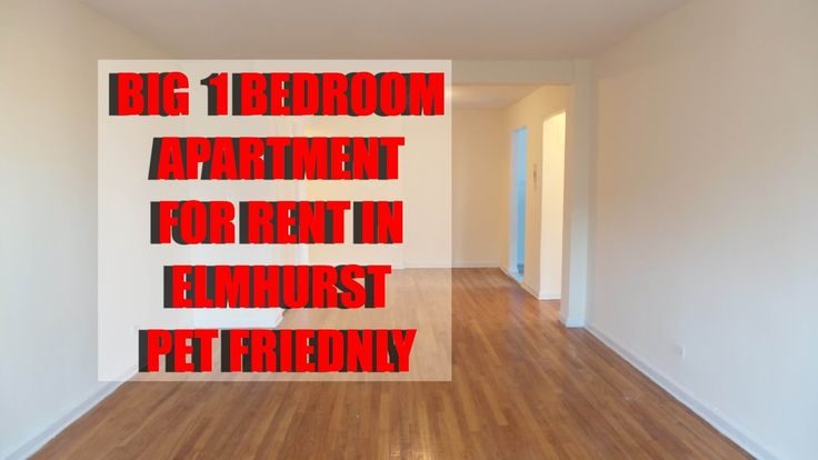 Big 1 bedroom apartment for rent in Elmhurst, Queens, NYC