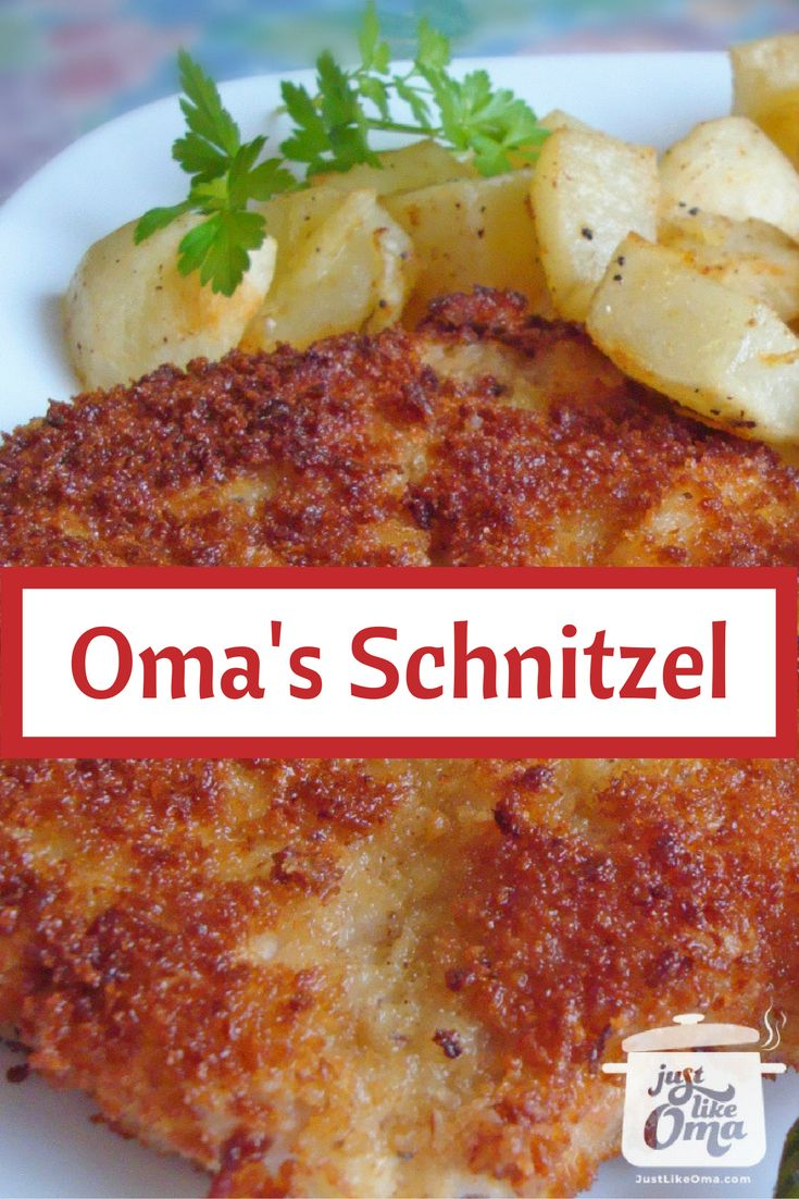 German Pork Schnitzel including a Jägerschnitzel Sauce.   Check out http://www.quick-german-recipes.com/german-schnitzel-recipe.html