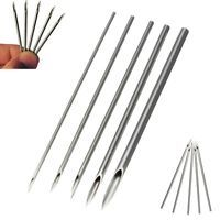 10pcs Body Piercing Needles For Surgical Steel Navel Ear Nose 12,14,15,16,18,20G
