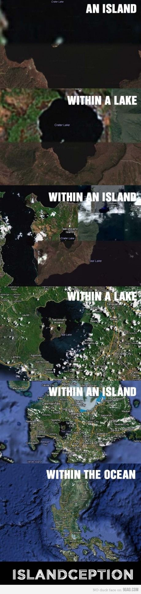 Taal Volcano, Philippines: Islandception