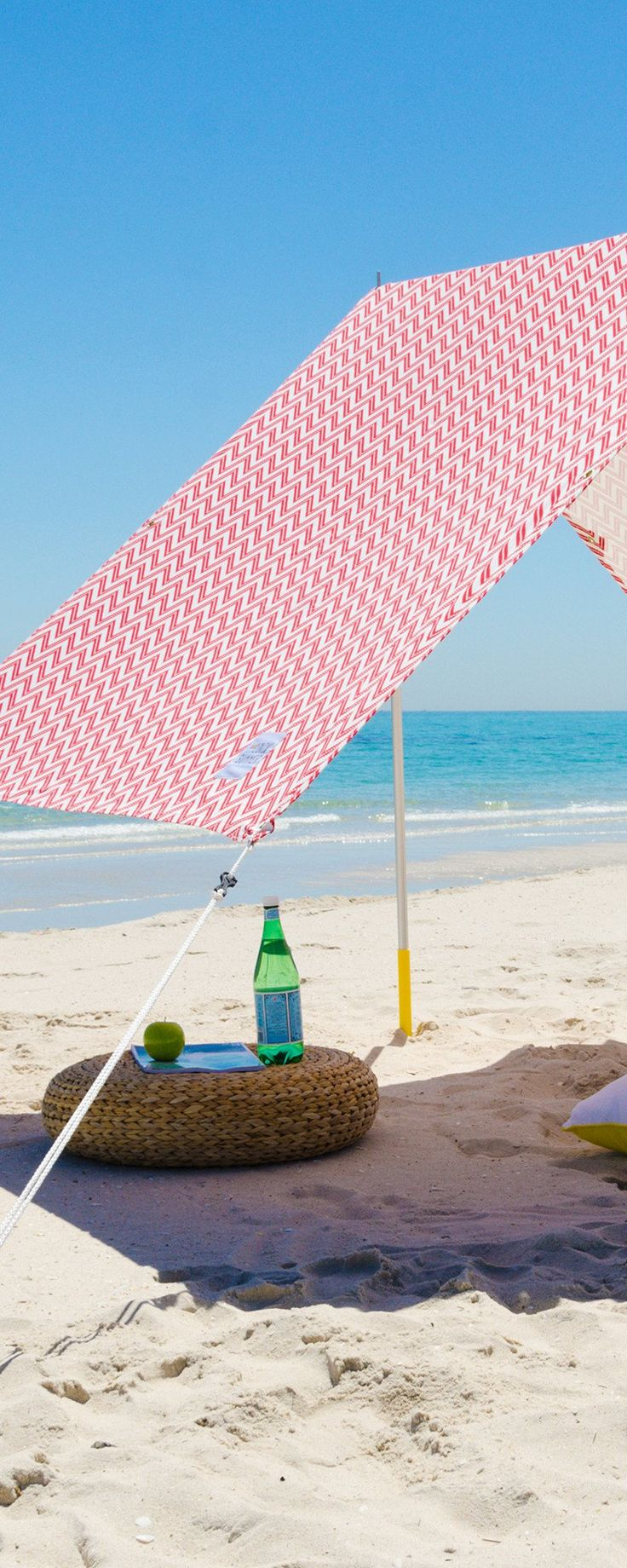 Lovin' Summer creates stylish ways to be outdoors. Their beach tent, discovered by The Grommet, offers UV-protection and keeps the comfort of a summer breeze.