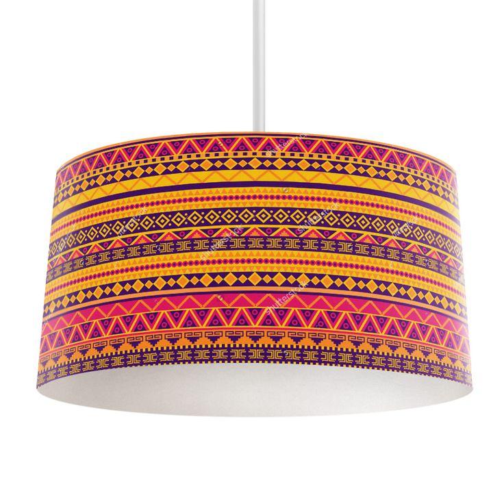 Lampenkap Tribal pattern | Bestel lampenkappen voorzien van digitale print op hoogwaardige kunststof vandaag nog bij YouPri. Verkrijgbaar in verschillende maten en geschikt voor diverse ruimtes. Te bestellen met een eigen afbeelding of een print uit onze collectie. #lampenkap #lampenkappen #lamp #interieur #interieurdesign #woonruimte #slaapkamer #maken #pimpen #diy #modern #bekleden #design #foto #patroon #stam #volk #volksstam #afrika #afrikaans