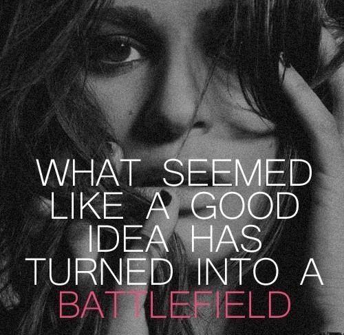 Lea Michele Battlefield